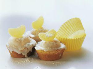 Muffins mit Zitronenglasur Rezept