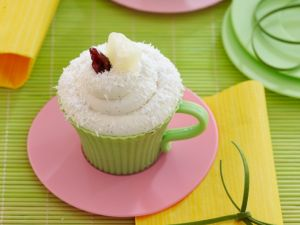 Mug Cake mit Ananas und Kokos Rezept