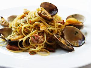 Muschel-Spaghetti Rezept