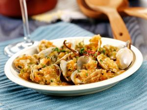 Muscheln mit Gemüse Rezept