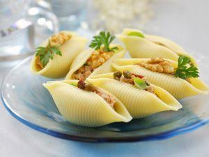 Muschelnudeln mit Thunfisch gefüllt Rezept
