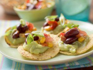 Nachos mit Avocadocreme Rezept