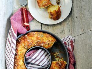 Napfkuchen mit Nüssen und Gorgonzola Rezept