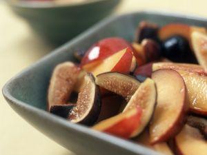 Nektarinen-Feigen-Salat Rezept