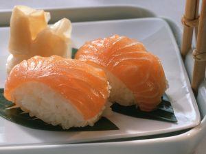 Nigiri mit Lachs Rezept