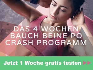Das 4-Wochen-Programm für Bauch, Beine und Po
