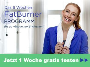 Das 6-Wochen Fatburner-Programm