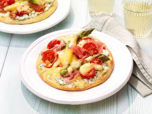 Noord Hollander Spargelpizza Rezept