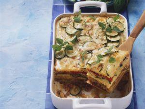 Nudel-Hack-Auflauf mit Zucchini Rezept