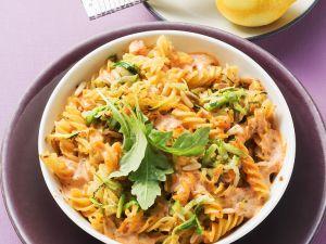 Nudel-Zucchini-Auflauf Rezept
