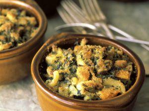 Nudelauflauf mit Käse und Kräutern Rezept