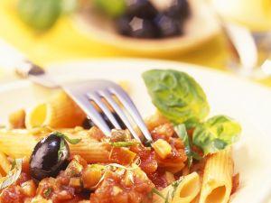 Nudeln mit Gemüsesauce Rezept