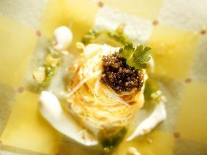 Nudeln mit Kaviar Rezept