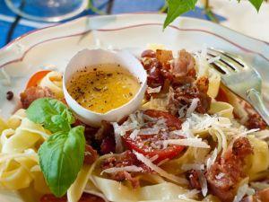 Nudeln mit Pancetta Rezept
