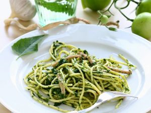 Nudeln mit Spinat Rezept