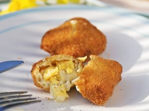 Nuggets mit Eier-Füllung Rezept
