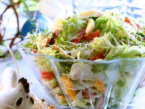 Österlicher bunter Gemüsesalat Rezept