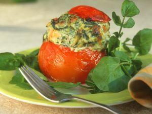 Ofengebackene, gefüllte Tomaten Rezept