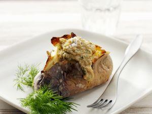 Ofenkartoffel mit Amarantsoße Rezept