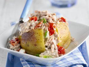 Ofenkartoffel mit Thunfischsalat Rezept