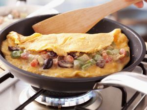 Omelett mit Gemüse Rezept