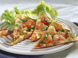 Omelett mit Shrimps Rezept