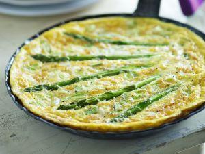 Omelett mit Spargel Rezept