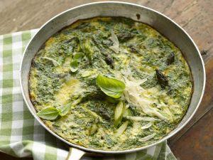 Omelett mit Spargel und Kräutern Rezept
