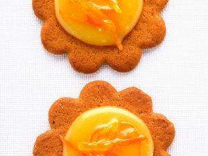 Orange-Curd-Plätzchen Rezept