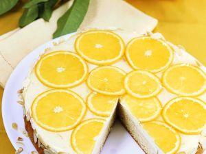 Orangen-Frischkäsetorte Rezept