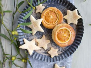 Orangen-Mandel-Törtchen Rezept