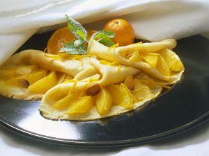 Orangen-Pfannkuchen Rezept