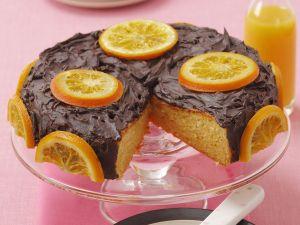 Orangen-Schoko-Kuchen Rezept