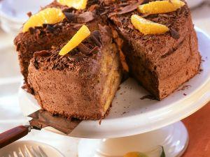 Orangen-Schokosahne-Torte Rezept