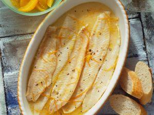 Orangen-Seezunge Rezept