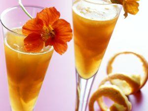 Orangen-Sektgelee Rezept