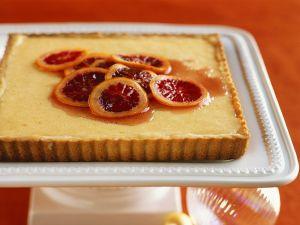 Orangen-Tarte Rezept