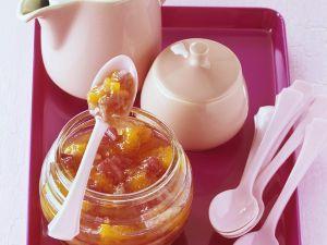 Orangenmarmelade mit Rhabarber Rezept
