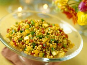 Orientalischer Couscous mit Gemüse Rezept