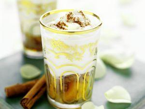 Orientalisches Joghurtdessert Rezept