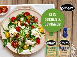 Die ORYZA Reisjagd: Mitsuchen und tolle Preise gewinnen!