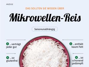 Mikrowellen-Reis