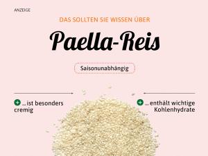 Paella-Reis