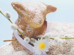 Osterlamm-Kuchen Rezept