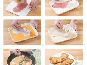 Panierte Kalbsschnitzel Rezept