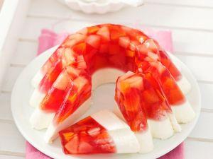 Panna Cotta mit Fruchtgelee Rezept