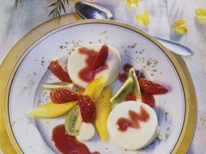 Panna Cotta mit Obst Rezept