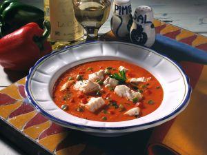Paprika-Fischsuppe Rezept