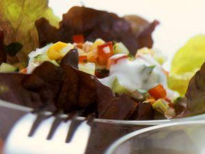 Paprika-Mais Salat Rezept