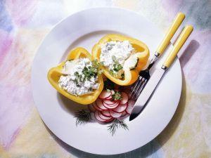 Paprika mit Quarkfüllung Rezept